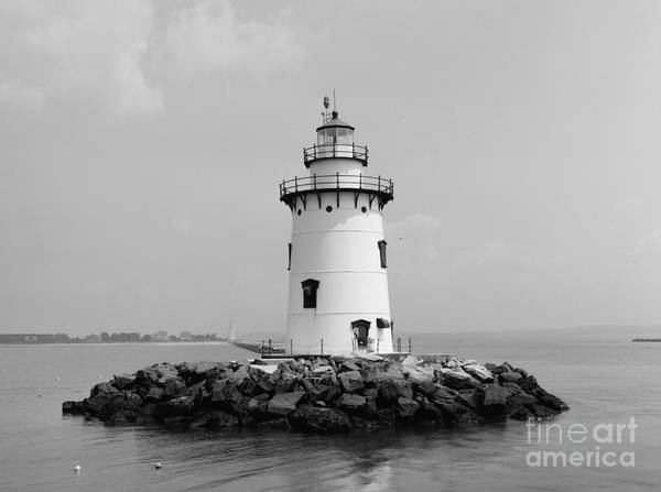Photograph - Old Saybrook Connecticut Lighthouse by Edward Fielding
