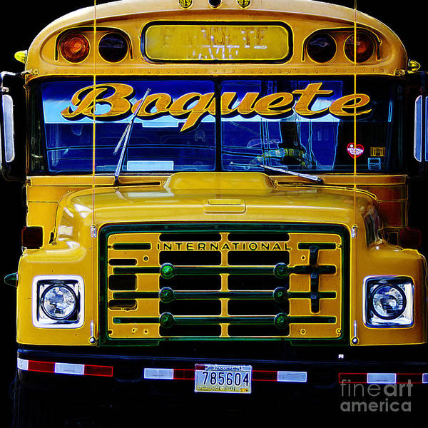 Photograph - Old School Bus by Heiko Koehrer-Wagner