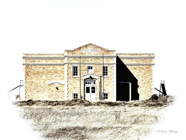 Photograph - Old School II by Susan Kinney
