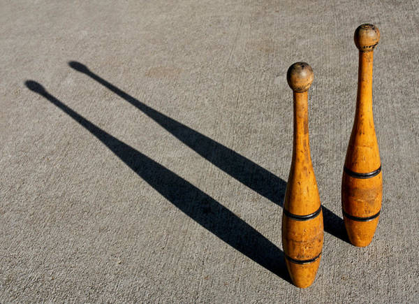 Photograph - Old School It With Vintage Indian Clubs 2013 by James Warren