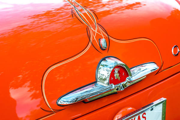Photograph - Old School Pinstriping by David Morefield