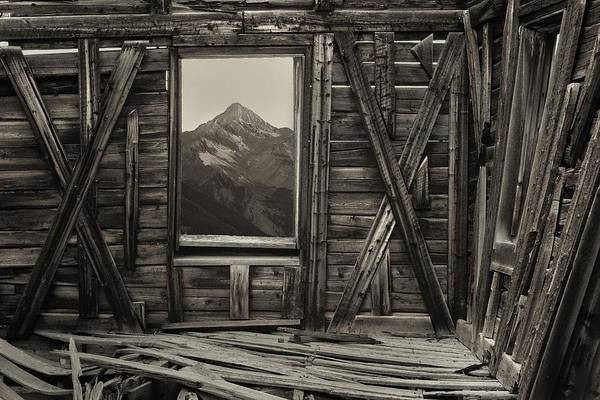 Ridgway Photograph - Old School Wilson Picture Frame by Mike Berenson