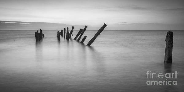 East Point Photograph - Old Sea Defences Spurn Point by Colin and Linda McKie