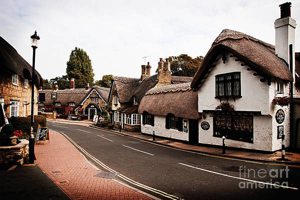 Old Shanklin Isle Of Wight  Art Print