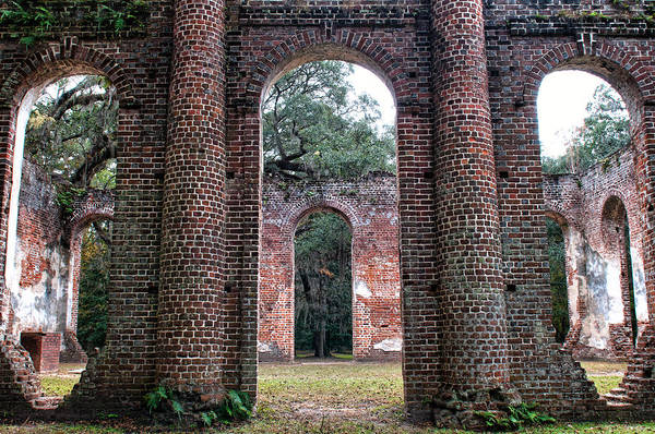 Photograph - Old Sheldon Ruins Archway by Scott Hansen