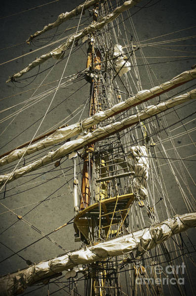 Rigging Photograph - Old Ship by Carlos Caetano
