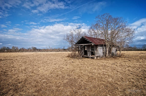 Photograph - Old Shotgun House by Andy Crawford