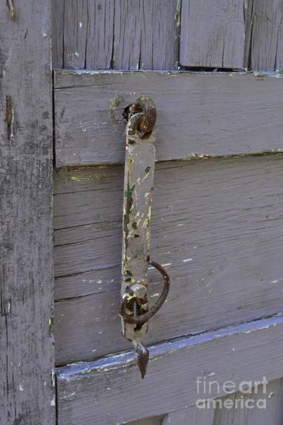 Photograph - Old Shutter Door by Bridgette Gomes