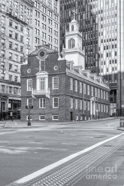 Photograph - Old State House Vi by Clarence Holmes