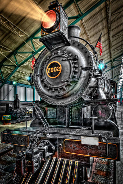 Photograph - Old Steam Train  by Emmanuel Panagiotakis