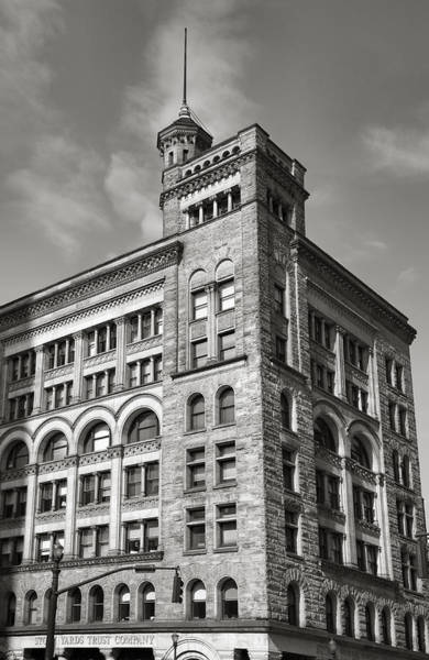 Stockyards Photograph - Old Stock Yards Trust Company by Steven Ainsworth