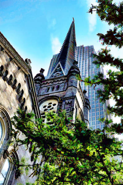 Old Stone Church - Cleveland Ohio - 1 Art Print