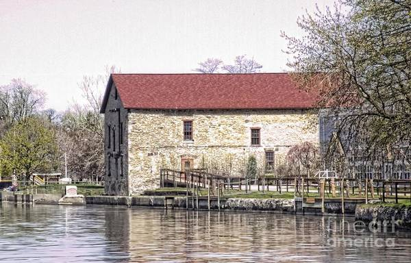 Old Stone House On The Canal Art Print
