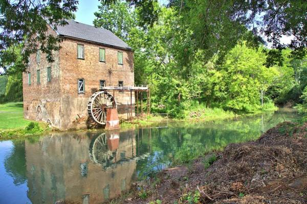 Photograph - Barnett's Old Stone Mill by Gordon Elwell