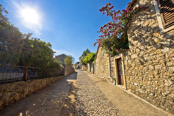 Starigrad Photograph - Old Stone Steets Of Stari Grad by Brch Photography