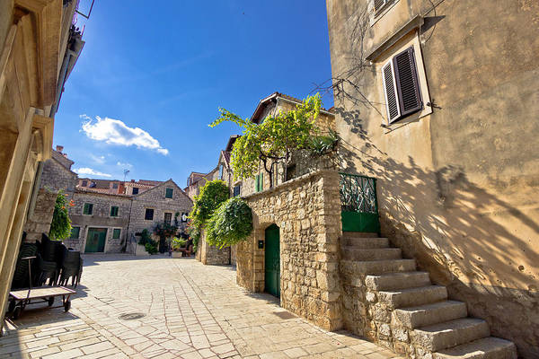 Starigrad Photograph - Old Stone Streets Of Stari Grad by Brch Photography