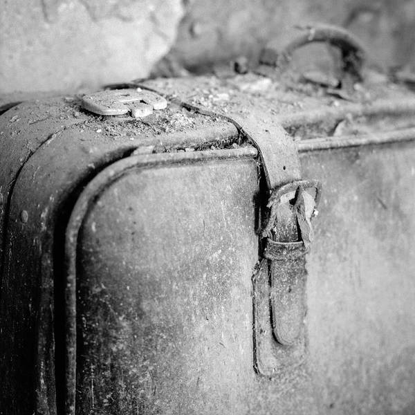 Dust Photograph - Old Suitcase by Pollobarba Fotógrafo