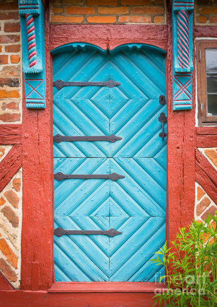 Europa Wall Art - Photograph - Old Swedish Door by Inge Johnsson