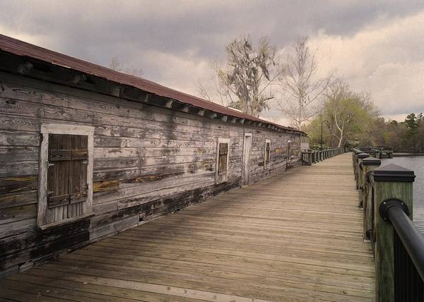 Photograph - Old Terminal On The Waccamaw - Tea Dyed by MM Anderson