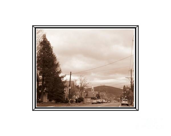 Photograph - Old Time Main Street by Donna Cavanaugh