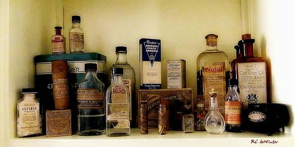 Painting - Old-time Remedies by RC DeWinter