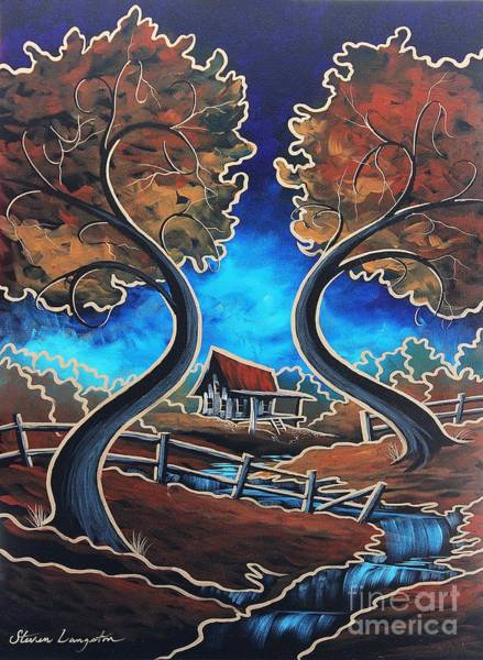 Wall Art - Painting - Old Time  by Steven Lebron Langston