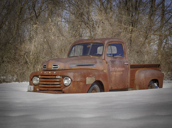 Photograph - Old Timer In Color by Thomas Young