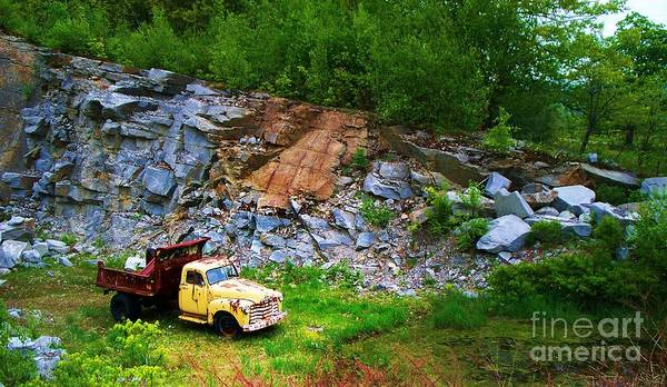 Dump Truck Photograph - Old Timer by Joy Nichols
