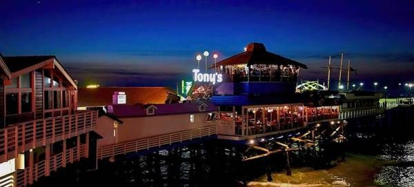 Photograph - Old Tony's On The Pier by Michael Hope