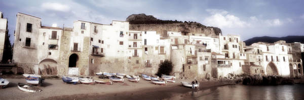 Leisurely Photograph - Old Town, Cefalu, Sicily, Italy by Panoramic Images