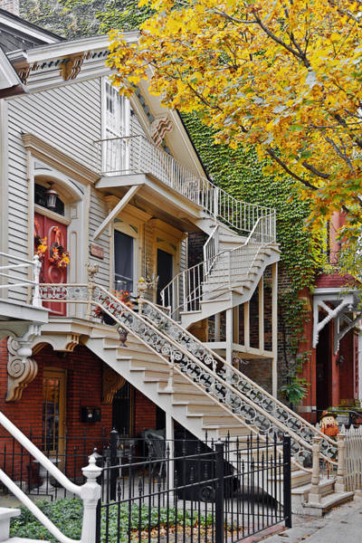 Photograph - Old Town Chicago Living by Christine Till