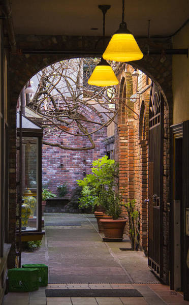 Photograph - Old Town Courtyard In Victoria British Columbia by Ben and Raisa Gertsberg