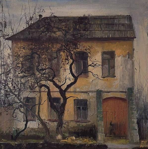 Lenin Painting - Old Town by Danil Shurykin
