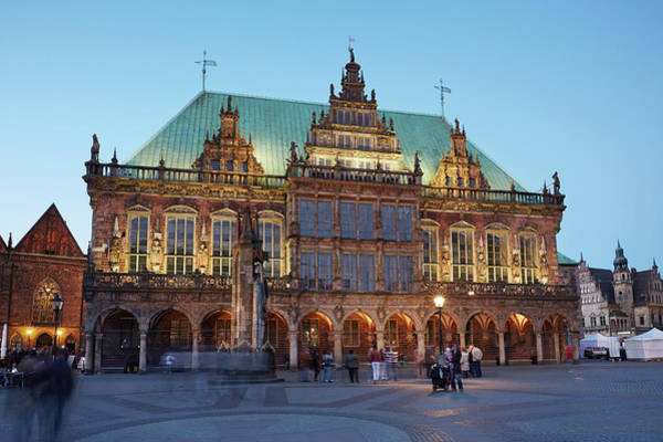 Bremen Wall Art - Photograph - Old Town Hall Of Bremen by Allan Baxter