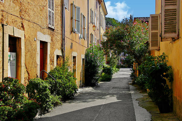 Photograph - Old Town Of Valbonne France  by Christine Till