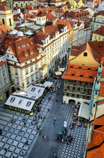 Wall Art - Photograph - Old Town Square In Prague by Pablo Lopez