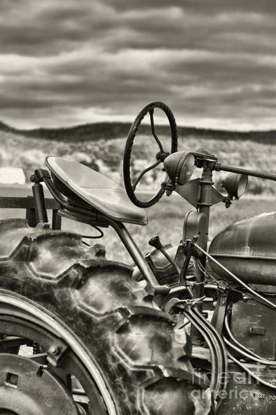 Wall Art - Photograph - Old Tractor by HD Connelly