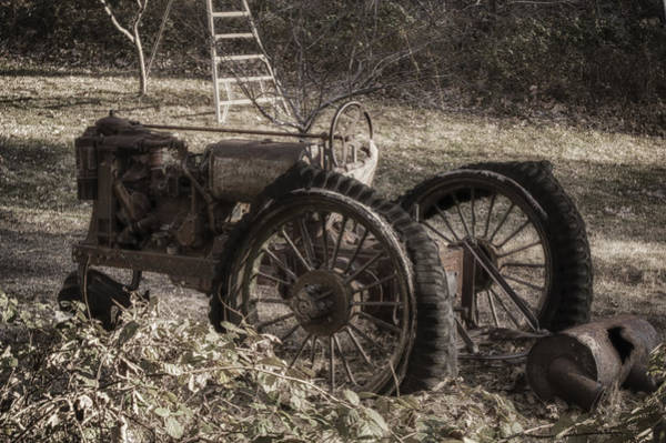 Photograph - Old Tractor by Lynn Geoffroy