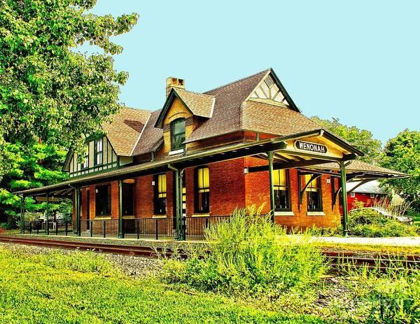 Photograph - Old Train Station by Nick Zelinsky
