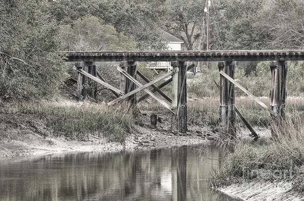 Photograph - Old Train Trestle by Scott Hansen