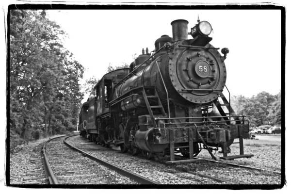 Photograph - Old Trains by Alice Gipson