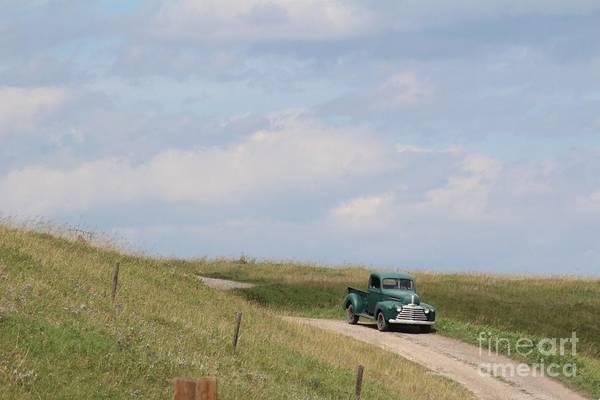 Photograph - Old Truck by Ann E Robson