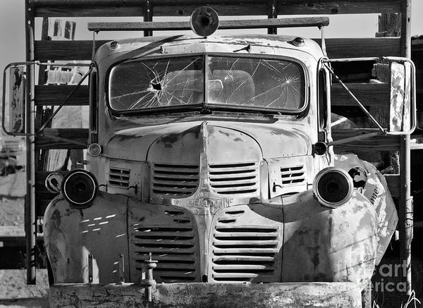 Photograph - Old Truck by Mae Wertz
