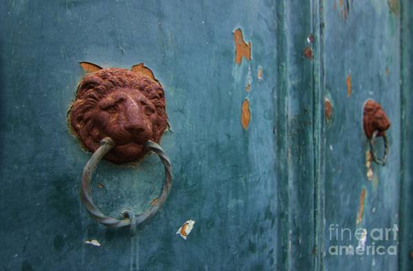 Photograph - Old Venetian Door Knocker by Fabrizio Malisan