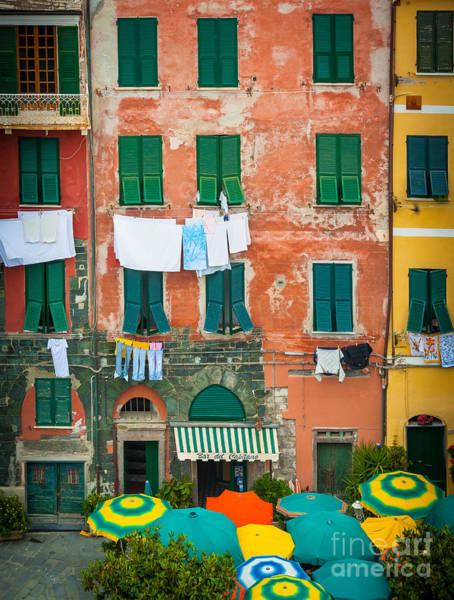 Nps Photograph - Old Vernazza by Inge Johnsson