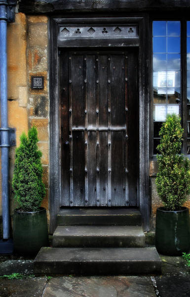Photograph - Victorian Front Door by Doc Braham