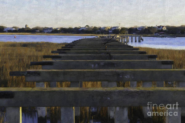 Photograph - Old Village To Sullivan's Island by Dale Powell