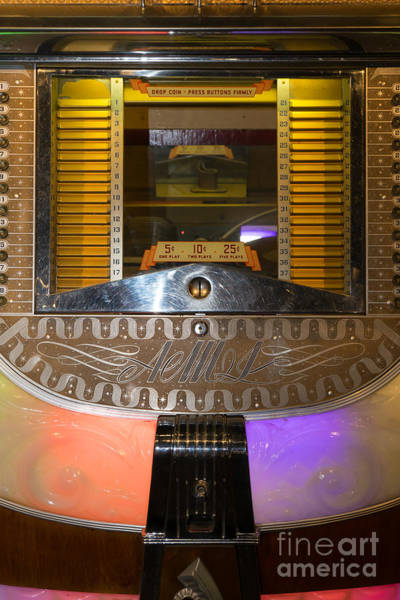 Photograph - Old Vintage Ami Jukebox Dsc2776 by Wingsdomain Art and Photography