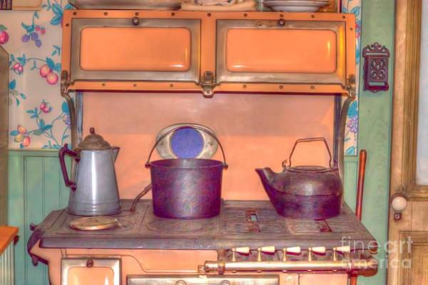 Liane Photograph - Old Vintage Antique Kitchen Stove by Liane Wright