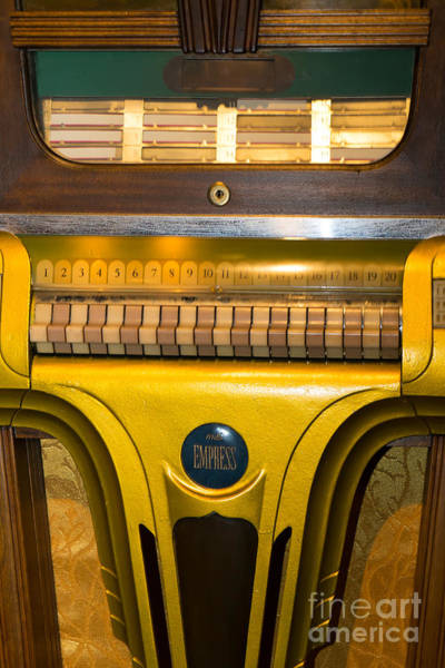Photograph - Old Vintage Mills Empress Jukebox Dsc2790 by Wingsdomain Art and Photography